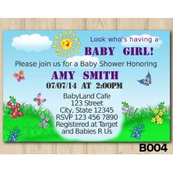 Baby Shower Custom invitation