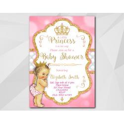 Little Princess Baby Shower invitation