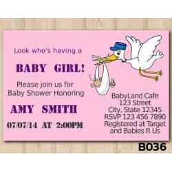 Baby Shower Girls invitation