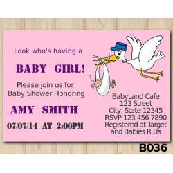 Baby Shower Girls invitation