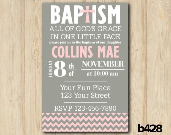 Custom Baby Shower Invitation Template