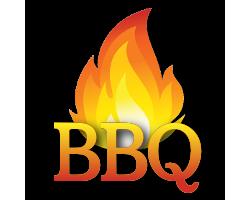 BBQ Custom Birthday Invitations