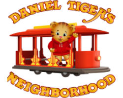 Daniel Tiger themed invitations and party decorations