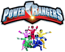 Power Rangers Joint Twins Birthday Invitations