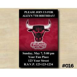 Chicago Bulls Invitation