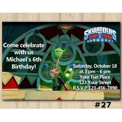 Skylanders Trap Team Invitation | ChompyMage