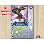 Skylanders Trap Team Game Card Invitation | CobraCadabra | Personalized Digital Card