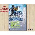 Skylanders Swap Force Game Card Invitation | JetVac | Personalized Digital Card
