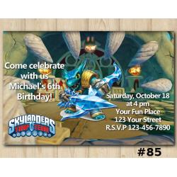 Skylanders Trap Team Invitation | Snapshot