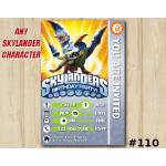 Skylanders Swap Force Game Card Invitation | Drobot | Personalized Digital Card