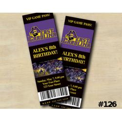 Ecu Pirates Ticket Invitation