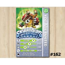 Skylanders Swap Force Game Card Invitation | Shroomboom