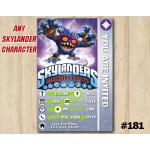 Skylanders Trap Team Game Card Invitation | PopFizz | Personalized Digital Card
