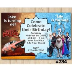 Twin Dukes of Hazzard and Frozen Invitation