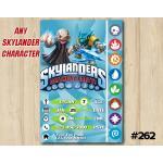 Skylanders Trap Team Game Card Invitation | Kaos, Snapshot | Personalized Digital Card
