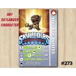 Skylanders Bob Mini Game Card Invitation | BobMini | Personalized Digital Card