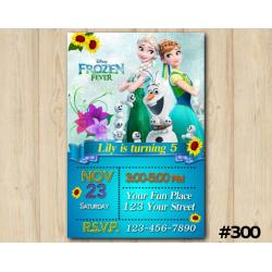 Frozen Fever Invitation