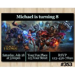 League of Legends Invitation