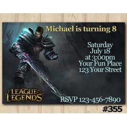 League of Legends Invitation | Garen