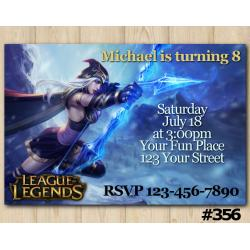 League of Legends Invitation | Ashe