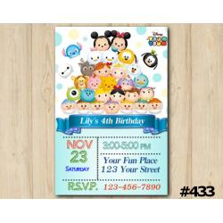Tsum Tsum Invitation