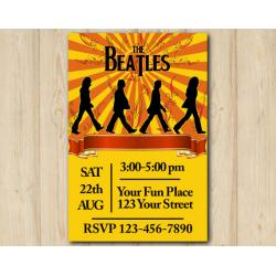 Beatles Invitation
