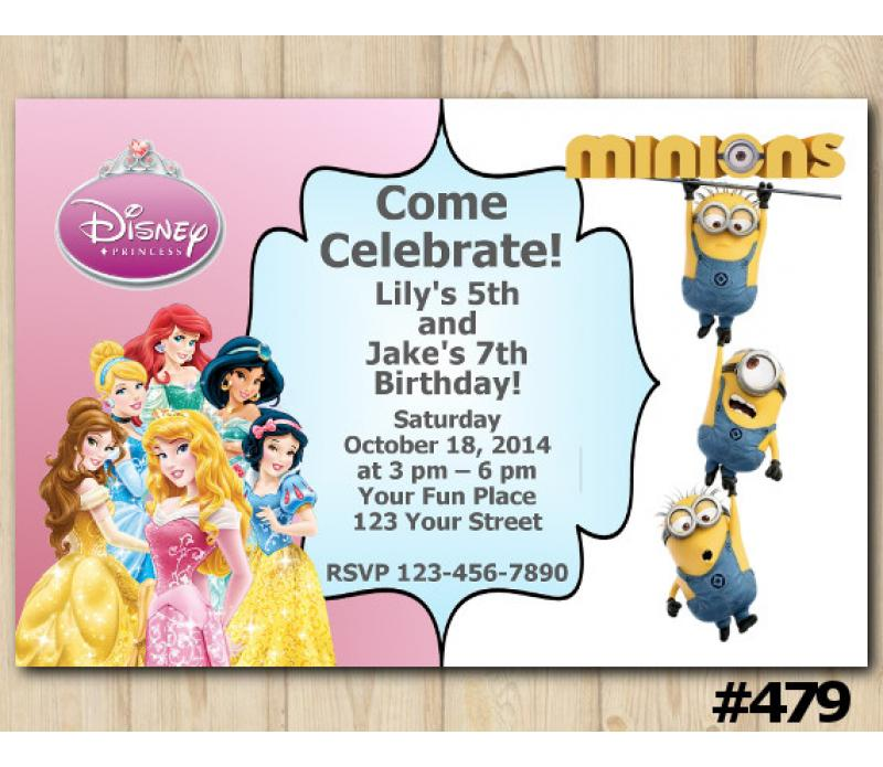 elegant minions birthday invitation or 99 minion birthday party invitations templates free