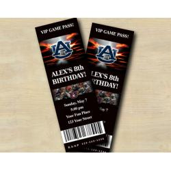 Auburn Ticket Invitation