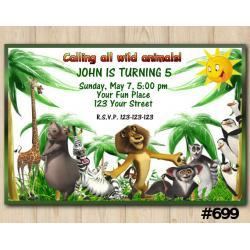 Madagascar Invitation
