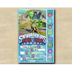 Skylanders Game Card Invitation | ChompyMage