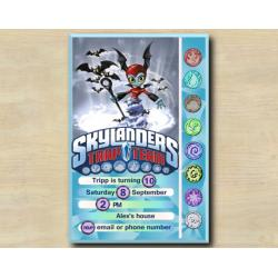 Skylanders Game Card Invitation | BatSpin