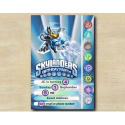 Skylanders Game Card Invitation | JetVac