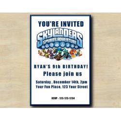 Skylanders Invitation