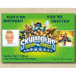 Skylanders Invitation with Photo | MagnaCgarge