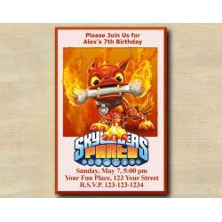 Skylanders Invitation | HotDog
