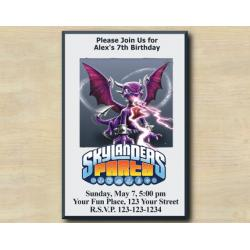 Skylanders Invitation | Spyro