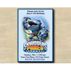 Skylanders Invitation | Thumpback