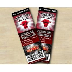 Chicago Bulls Ticket Invitation