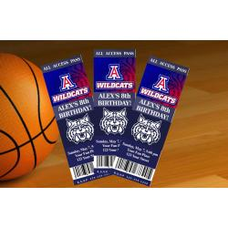 Arizona Wildcats Ticket Invitation