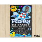 Pool Party invitation | Personalized Digital Card