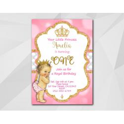 Little Princess Invitation
