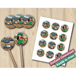 Lilo and Stitch Stickers 2in
