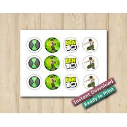 Ben10 Stickers 2in