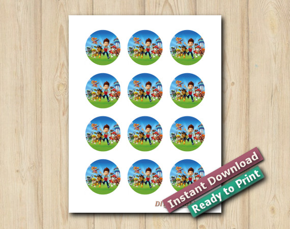 Downloadable Paw Patrol Stickers 2in