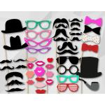 Photo Booth Props - Instant Download Digital Party Set Over 50 images