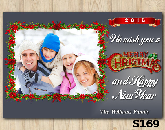 Christmas Photo Card | Personalized Digital Card