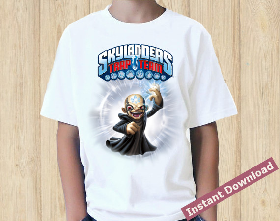 Skylander T-shirt | Kaos | Instant Download