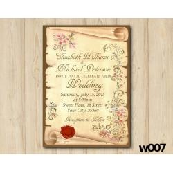 Papirus Wedding invitation