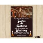 String Lights Wedding Invitation | Personalized Digital Card