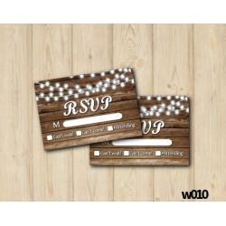 String Lights Wedding RSVP